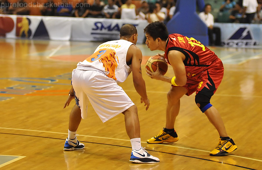 Key Matchup: James Yap vs Sol Mercado