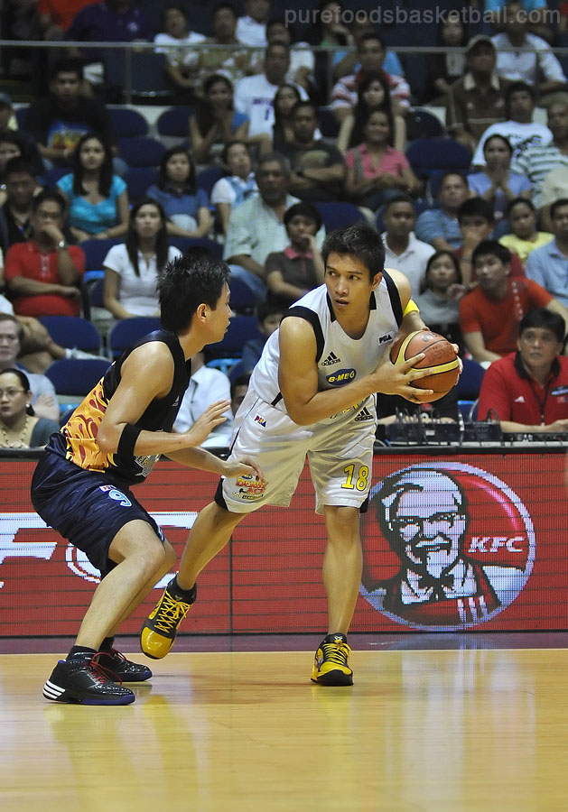 James Yap is determined to give Derby Ace a win