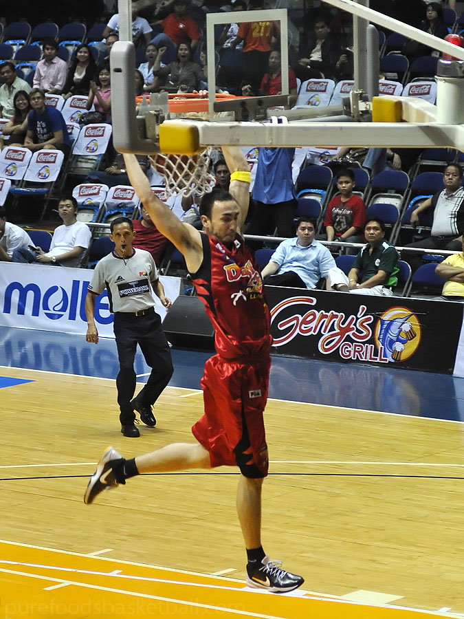 Only a few highlights for Derby Ace including a Slam by Rico Maierhofer