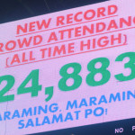 New Record Crowd Attendance at the Big Dome during Game 7