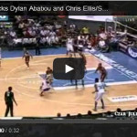 James Yap blocks Ababou and Ellis Video