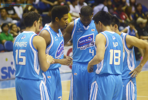 San Mig Super Coffee Mixers PBA Semifinals