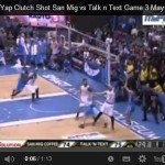 James Yap clutch shot against Talk N Text Video