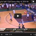 San Mig Coffee vs Talk N Text Game 4 Video