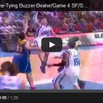 James Yap Buzzer Beater to force OT Video