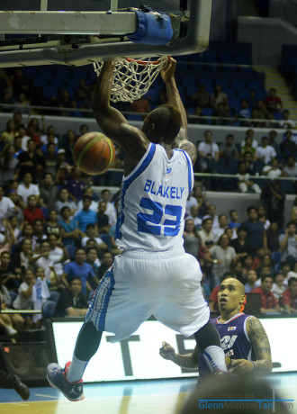 Marqus Blakely Dunk