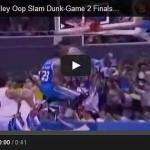 Justin Melton alley-oop dunk Video