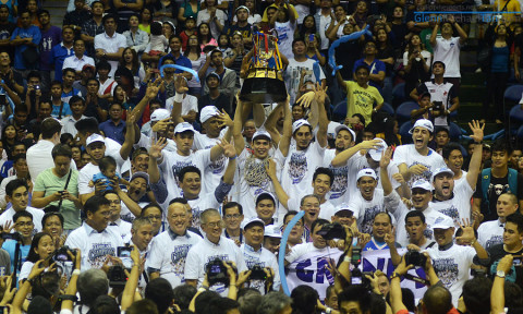 San Mig Super Coffee Mixers 2014 Governors Cup Champions