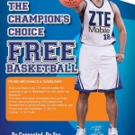 Free Basketball signed by James Yap from ZTE Mobile