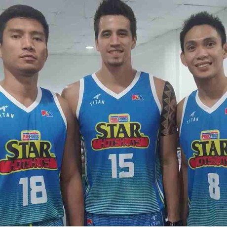 Peter June SImon Marc Pingris James Yap