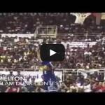 Justin Melton Blindfolded Failed Dunk Video