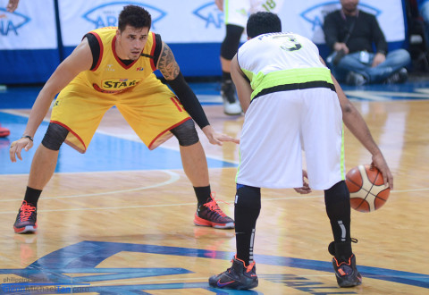 Marc Pingris vs Stanley Pringle