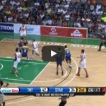 Justin Melton behind-the-back pass to Marc Pingris Video