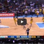 James Yap steal and buzzer beater vs Mahindra Video
