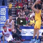 James Yap vs Chris Ellis Video