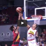 Marc Pingris blocks June Mar Fajardo Video