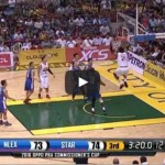 2 Big Dunks by Denzel Bowles vs NLEX Video