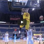 Back-to-back dunks by Denzel Bowles Video