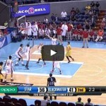 Nice pump fake and layup by Marc Pingris Video