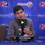 Jason Webb Presscon Interview after GlobalPort win