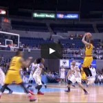 Justin Melton three-pointer at the buzzer Video
