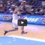 Marc Pingris steal and slam Video