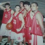 UE Warriors with James Yap and Paul Artadi