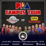 Star Hotshots vs Phoenix PBA Campus Tour
