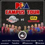 Star Hotshots vs Phoenix PBA Campus Tour