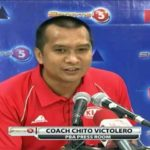 New Star Hotshots Head Coach Chito Victolero
