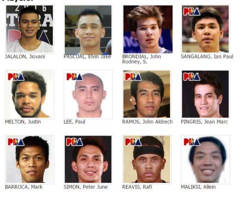 Star Hotshots Roster for 2016-2017 Philippine Cup