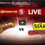 Philippine Cup: Star Hotshots vs San Miguel Beer Livestreaming