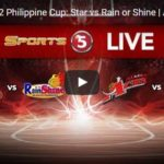 Philippine Cup: Star Hotshots vs Rain or Shine Livestreaming