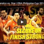 Philippine Cup: Star Hotshots vs Meralco Highlights
