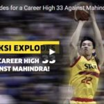 Allein Maliksi Career High 33 points Highlights Video