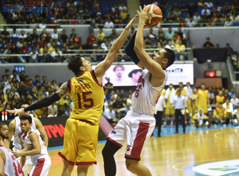 Japeth Aguilar vs Marc Pingris