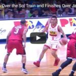 Jio Jalalon Highlight Play vs Ginebra Video
