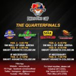 Star Hotshots vs Phoenix PBA Quarterfinals Schedule