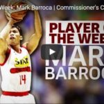 Mark Barroca PBA Player of the Week Highlights Video