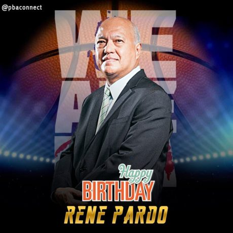 Happy Birthday Governor Rene Pardo