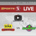 Star Hotshots vs GlobalPort Livestreaming – Commissioners Cup