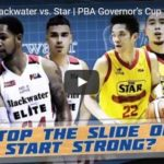 Star Hotshots vs Blackwater Highlights – Governors Cup