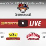 Star Hotshots vs Blackwater Livestream – Governors Cup