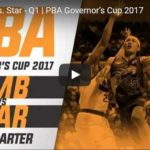 Star Hotshots vs San Miguel Full Game Video – 2017 Governors Cup