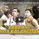 Star Hotshots vs San Miguel Highlights – Governors Cup