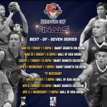 2018 PBA Philippine Cup Finals Schedule