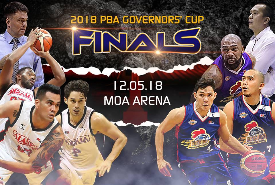 Magnolia vs Alaska PBA Governors Cup Finals Schedule   Magnolia
